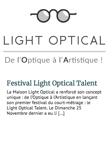 Fréquence optique -Light Optical Talent