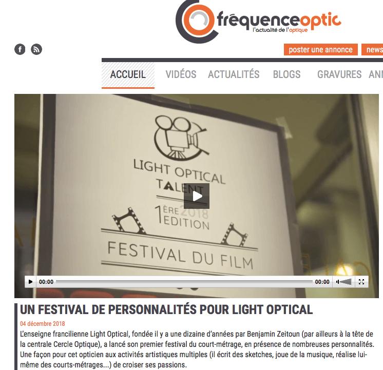 Fréquence optique Parle de Light Optical