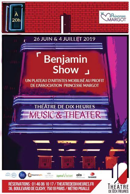 Affiche Benjamin Show x Princesse Margot